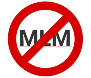 SAY NO TO MLM