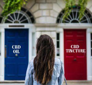 cbd tincture and cbd oil