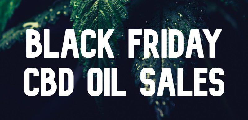 black friday cbd oil sales