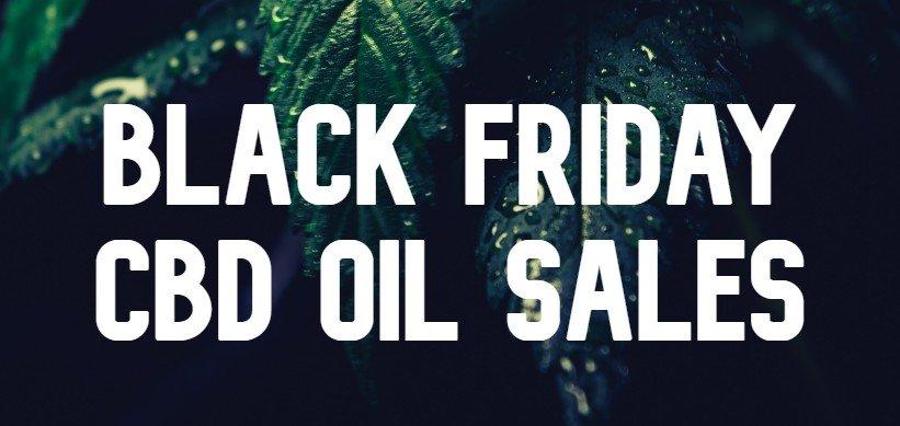 black friday cbd oil sales