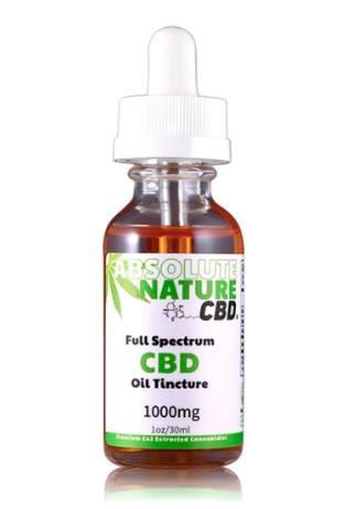 absoulute nature cbd full spectrum tincture