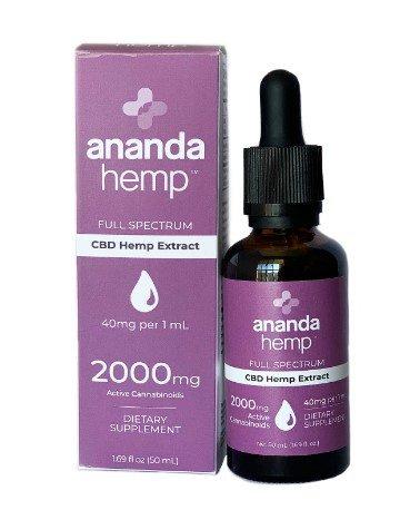 ananda hemp full spectrum tincture