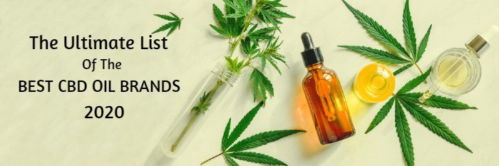 the ultimate list of the best cbd oil brands 2020