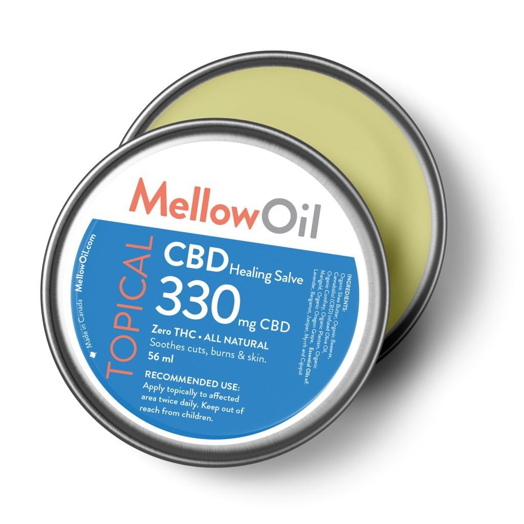 buy mellow topical cbd healing salve