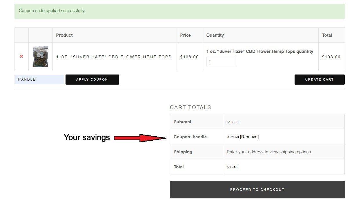 cascadia blooms coupon code savings