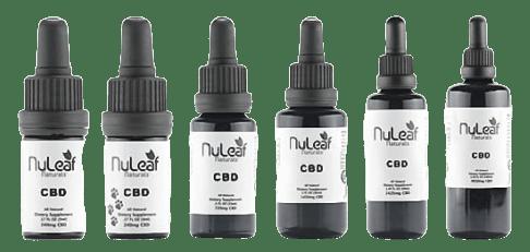 nuleaf naturals full spectrum cbd lineup