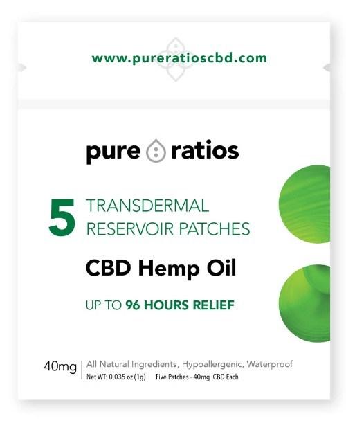 pure ratios cbd transdermal patch