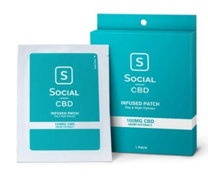 social cbd transdermal patch