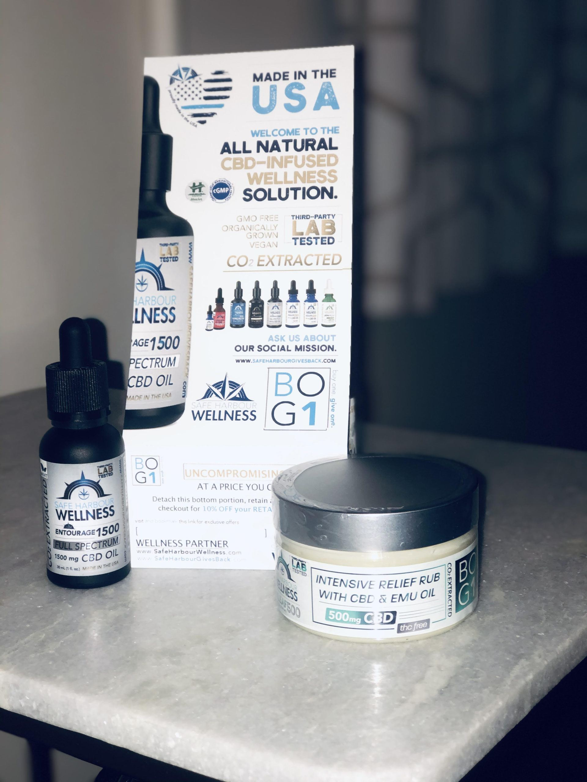 safe harbour wellness cbd products
