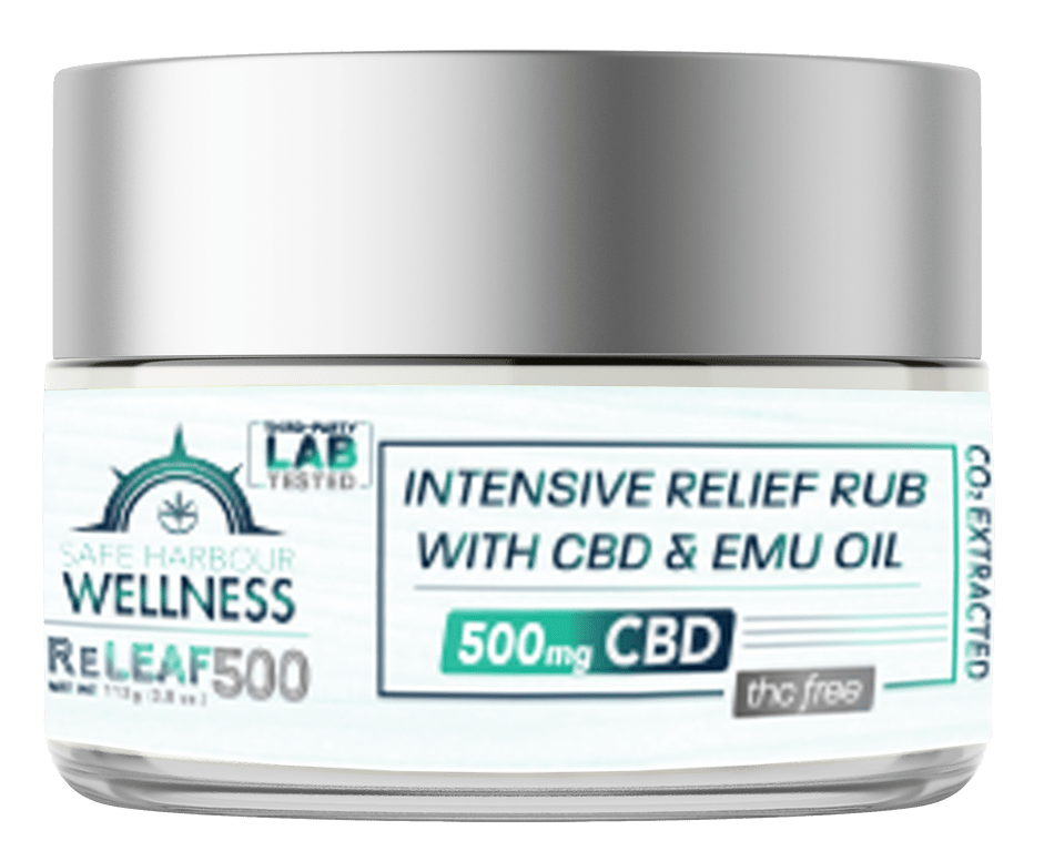 safe harbour wellness intensive releaf rub with emu oil