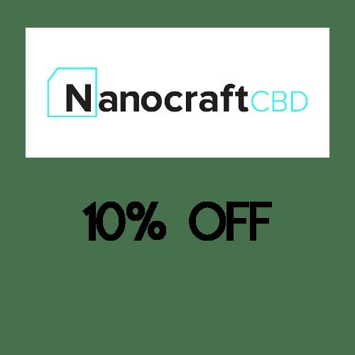 nanocraft cbd coupoon code