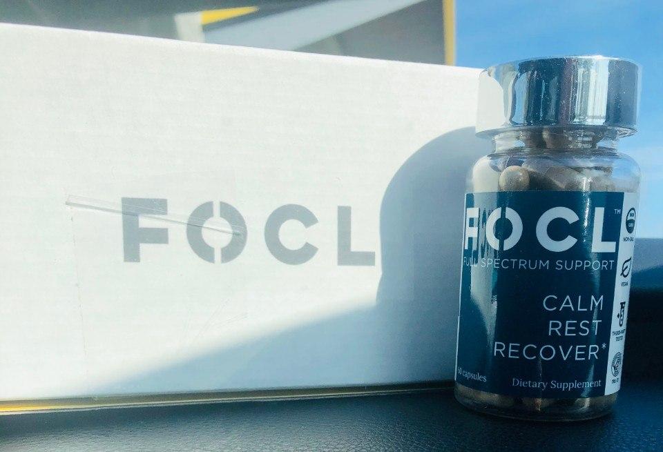 focl cbd night capsules