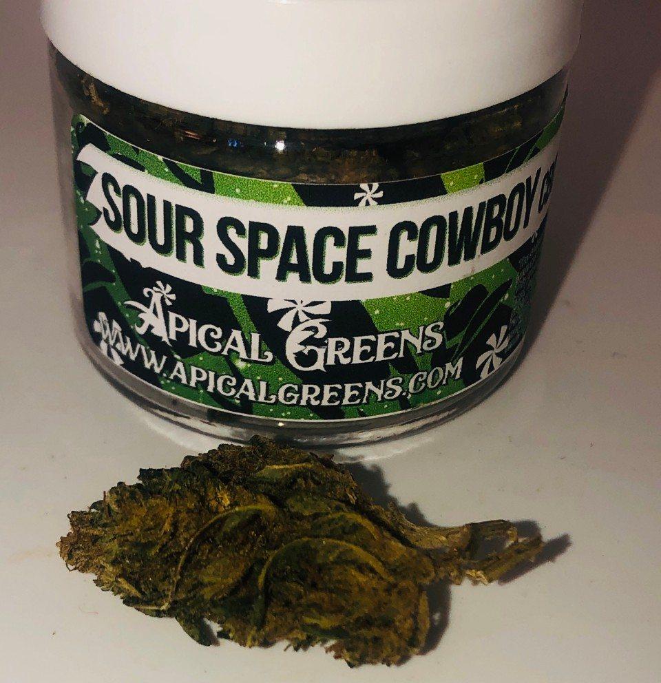 apical greens sour space cowboy CBD hemp flower