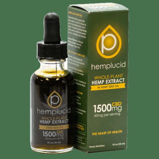 hemplucid full spectrum cbd with hemp seed oil