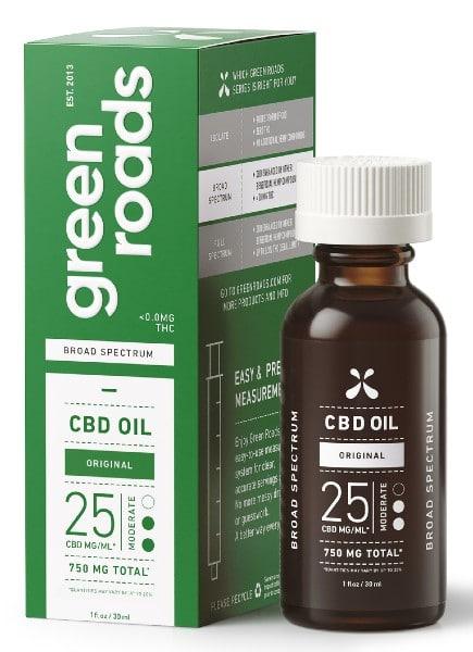 green roads cbd 750mg broad spectrum cbd oil