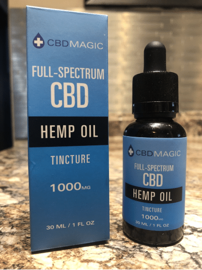 cbd magic full spectrum cbd hemp oil tincture - 1000mg