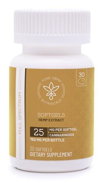 pure hemp botanicals capsules