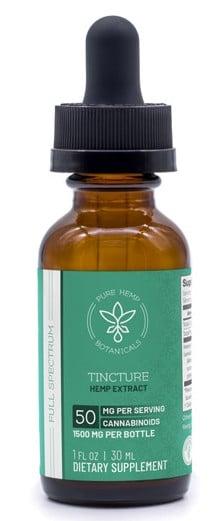 pure hemp botanicals tincture