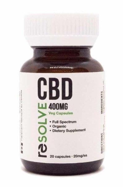 resolve cbd full spectrum cbd capsules