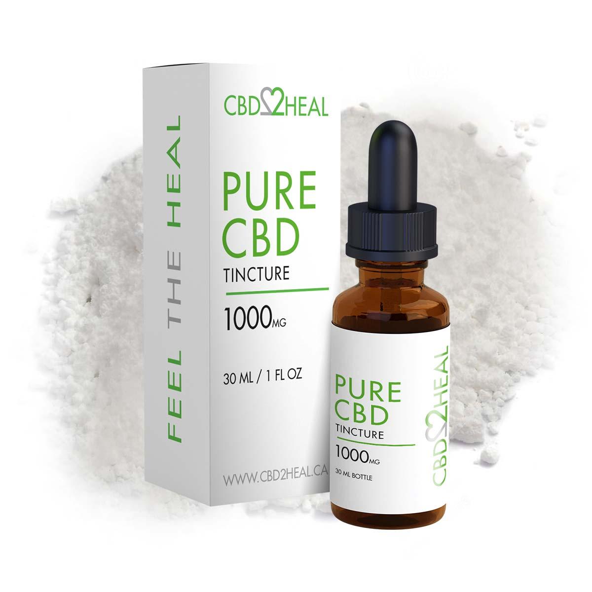 cbd2heal pure cbd oil tincture