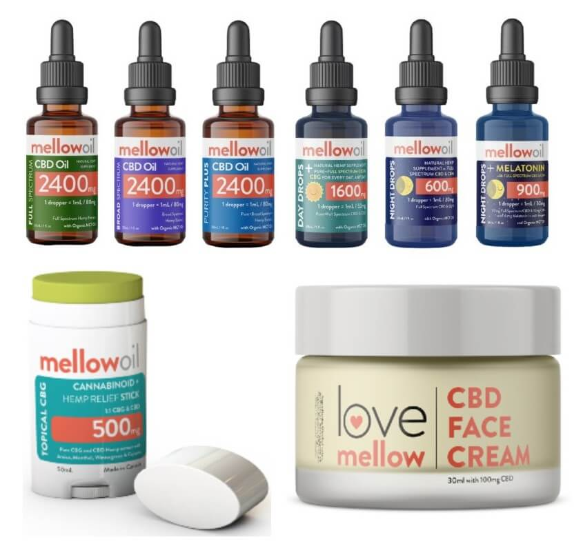buymellow canada mother's day CBD oil sales and deals