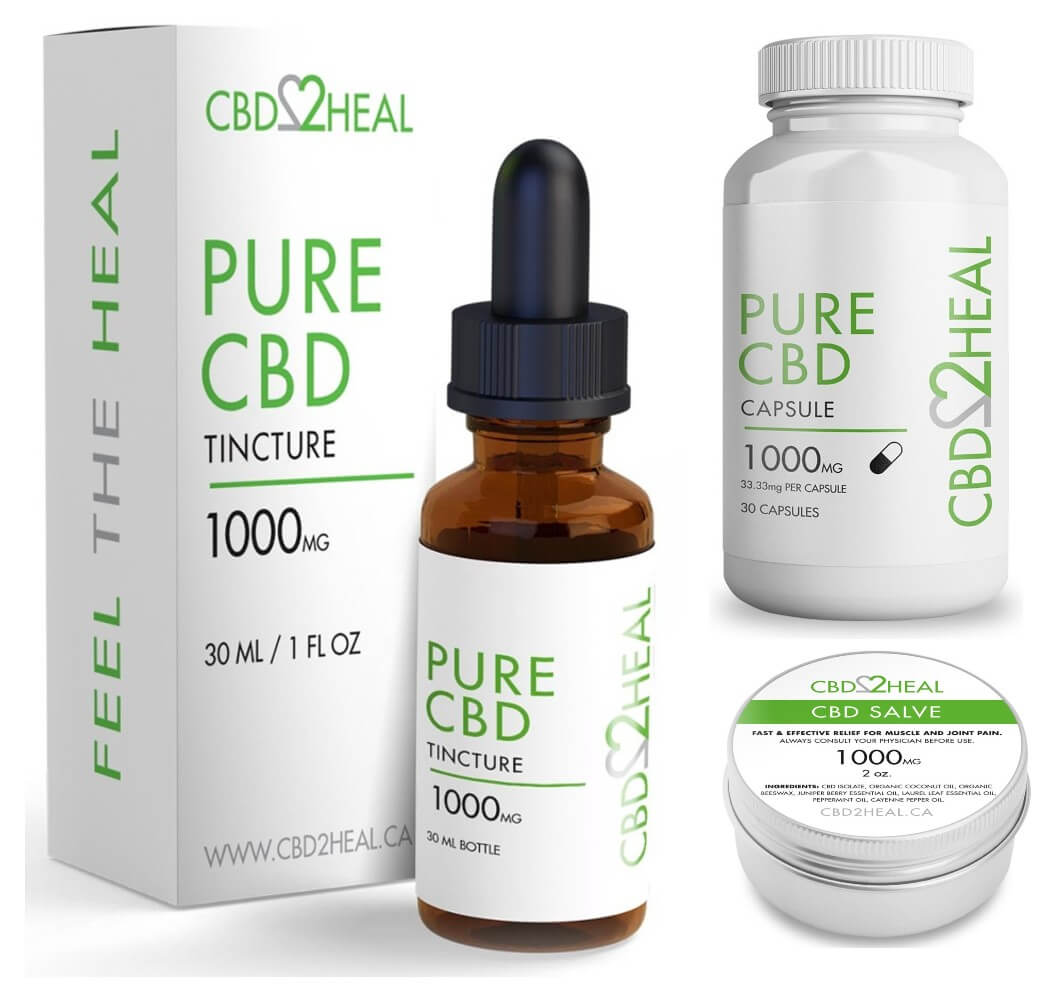 CBD2HEAL Mother's Day CBD oil sales and deals