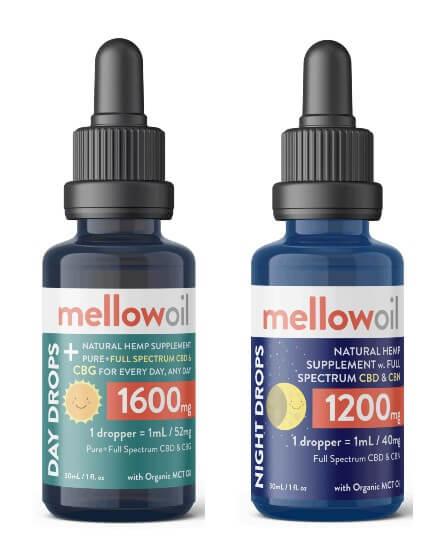 BuyMellow CBG and CBN oil