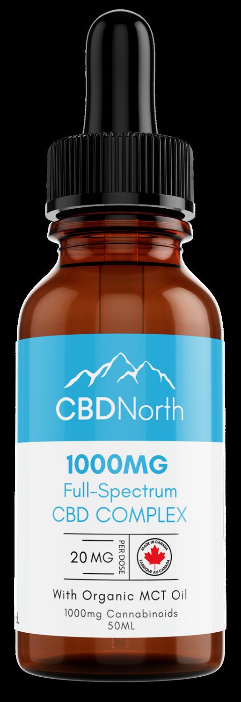 cbd north premium full spectrum 1000mg cbd oil