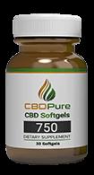 CBD Pure softgels 750mg