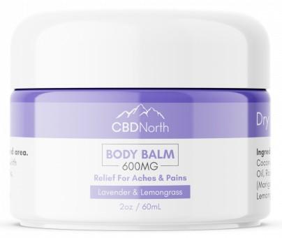 cbd north pain cream 600mg lavender and lemongrass
