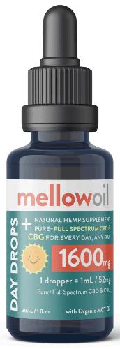 BuyMellow CBG oil 1600mg