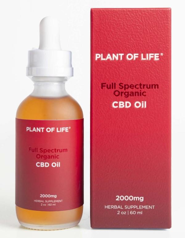 Plant of Life Organic Full Spectrum CBD oil